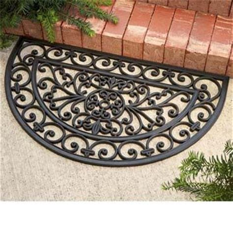Rubber Scroll Doormat by Scroll Rubber Doormat Home Sweet Home