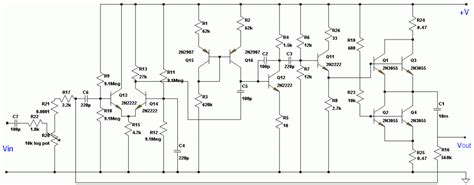class  audio amplifier