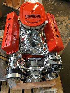 383 Stroker Crate Motor 510hp With A  C Roller Chevy Turn
