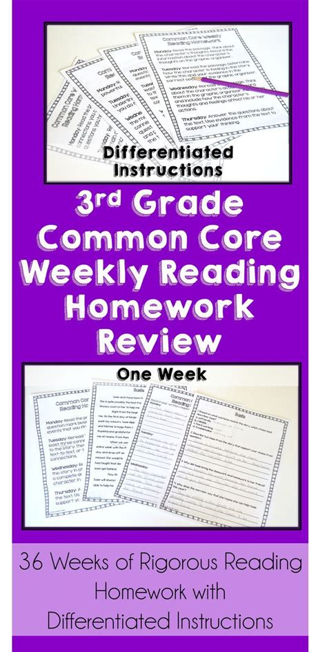 59 Best 3rd Grade Common Core Literacy Images On Pinterest  Reading Activities, Reading