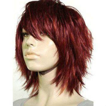 edgy tousled layered hair prettys pinterest wig