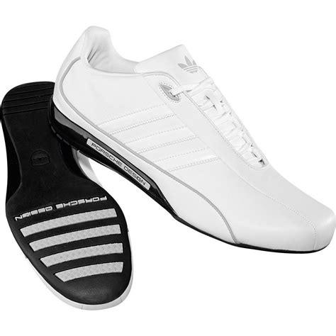 Mens Adidas Porsche White Design S2 Leather Designer