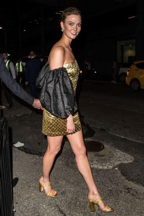 Karlie Kloss Gucci Met Gala Party New York