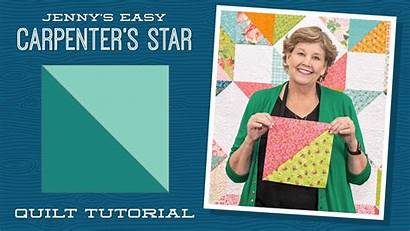 Star Quilt Jenny Doan Carpenter Missouri Easy