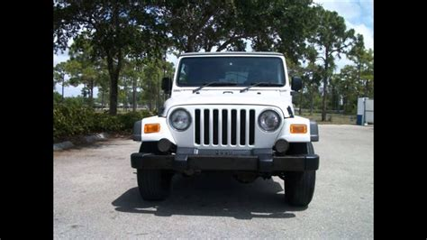2005 Jeep Wrangler For Sale Cheap, White, Right Hand Drive