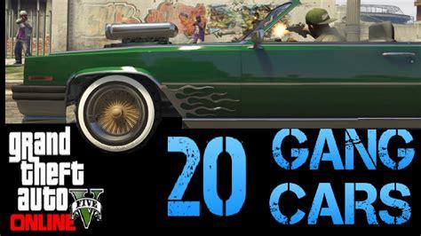 gta    rare  secret  gang cars locations