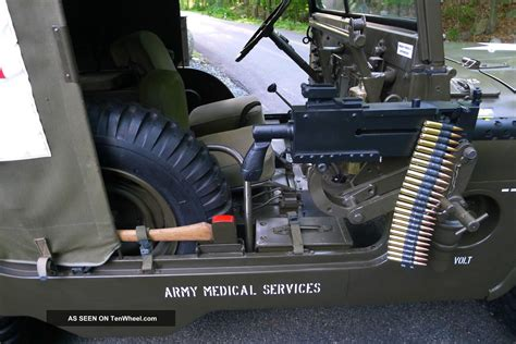 willys  frontline ambulance jeep