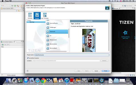 tizen 2 0 sdk on mac os体验 英特尔 174 软件