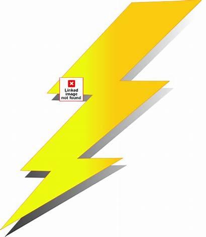 Lightning Clip Vector Clipart Amee Clker