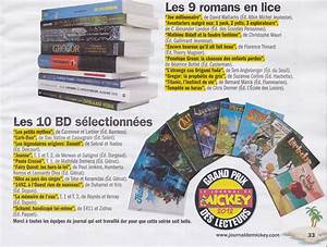 Le Journal De Mickey Prix : le cahier de lecture de nathan la s lection du grand prix des lecteurs du journal de mickey 2012 ~ Medecine-chirurgie-esthetiques.com Avis de Voitures