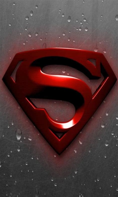 superman logo wallpaper  android