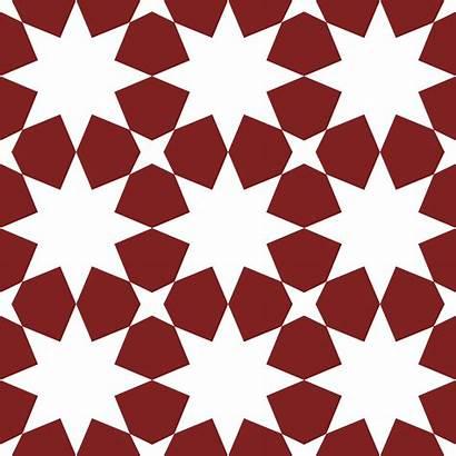 Geometric Seamless Pattern Islamic Vector Clipart System