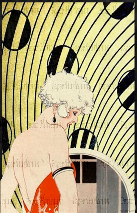 gatsby art deco poster daisy buchanan diy party room decor