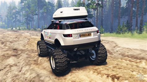range rover evoque lrx lifted  spin tires