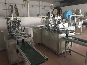 Fully Automatic Nonwoven Face Mask Making Machine