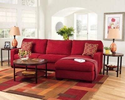 sofa vermelho como decorar como decorar uma sala um sof 225 vermelho como decorar