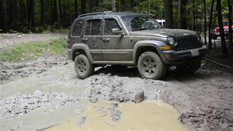 offroad jeep liberty jeep liberty offroad youtube