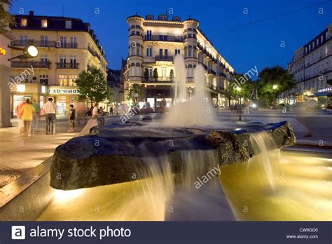 Shopping Center Baden Baden by Baden Baden Overlooking The Leopold Square In The City