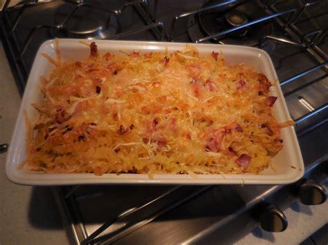 cuisine facile com cuisine facile com gratin de pâtes au jambon