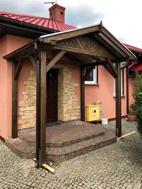 Eingang Überdachung  Projekte 5  Carports Aus Polen
