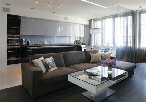 Wohnzimmer Mit Essbereich Einrichten by Wohnzimmer K 252 Che Essecke Offen Wohnen Neutrale Farben