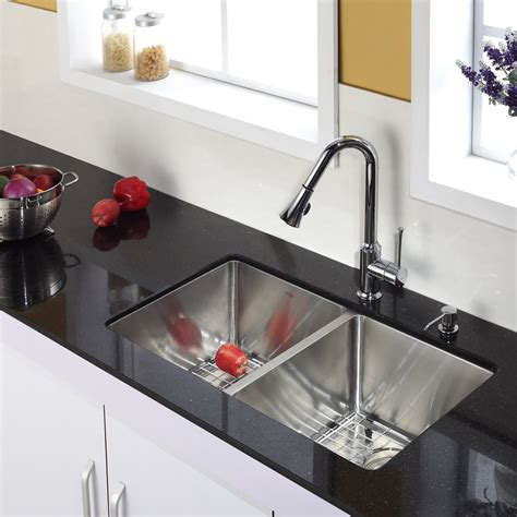 kitchen sink and faucet sets modern kitchen faucets with soap dispenser 8433
