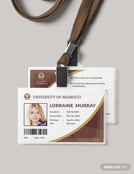 student id card  images id card template