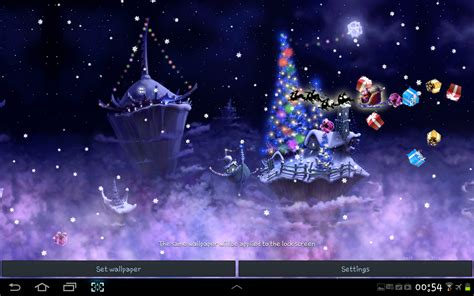christmas snow fantasy  wallpaper android apps
