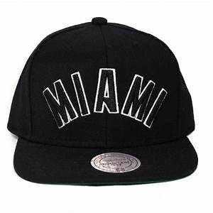 Mitchell & Ness - Miami Heat - Svart NBA keps