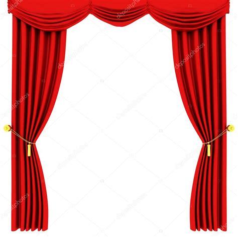 rideaux de th 233 226 tre isol 233 sur blanc photographie ericmilos 169 2129455