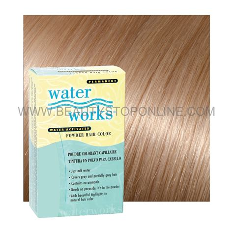 hair powder color water works 35 permanent powder hair color