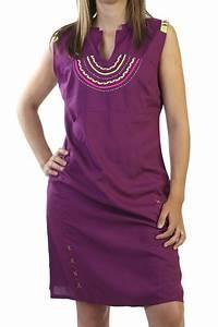 robe d39ete avec broderies originale et ethnique mauve ratnam With robe d été femme originale