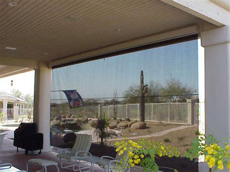 exterior retractable rolling solar shade screens retractable deck patio awnings sunair