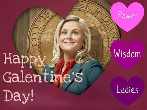 10 Ways To Celebrate Your Galentine's Day | Leslie knope ...
