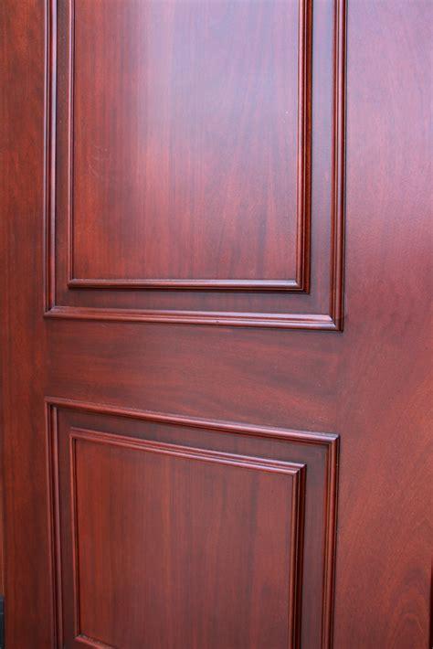 copper doors mahogany exterior closeup inside nicksbuilding