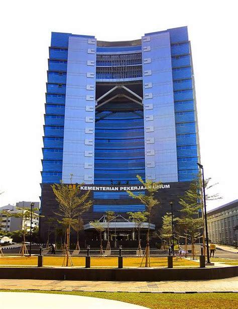 blog foto  gedung kementerian pu