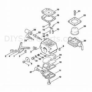 Stihl Km 85 Engine  Km 85  Parts Diagram  Carburetor C1q