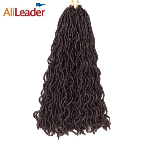 Alileader Faux Locs Curly Crochet Hair Short 10 Inch