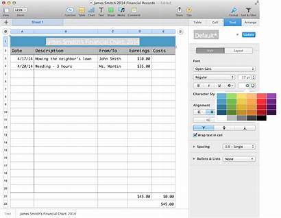 Chart Finance Numbers Wikihow Libreoffice Spreadsheet Convert