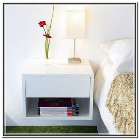 wall mounted bedside ls 71 best images about floating shelves nightstands on pinterest