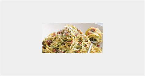 recette concours la vrai recette italienne des pates carbonara
