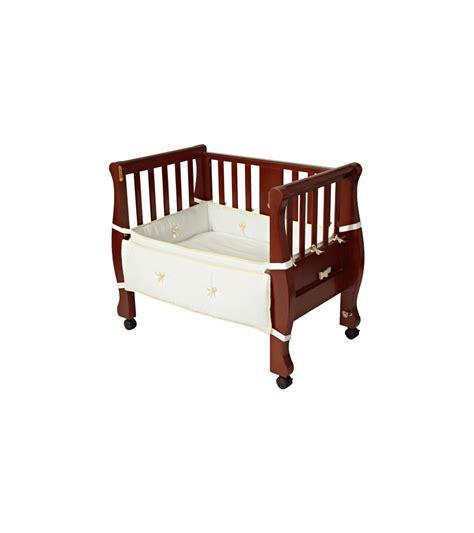 Sleigh Bed Co Sleeper by Arm S Reach The Co Sleeper Sleigh Bed Bassinet Cherry