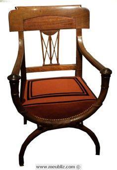 chaise curule chaise directoire à dossier en hémicycle s xix francia