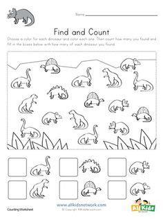 dinosaur reading worksheet  images dinosaur