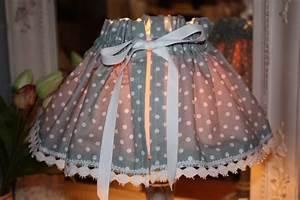 Création Abat Jour : kit de cr ation couture jupon abat jour tissu petits pois la po sie du pass ~ Melissatoandfro.com Idées de Décoration