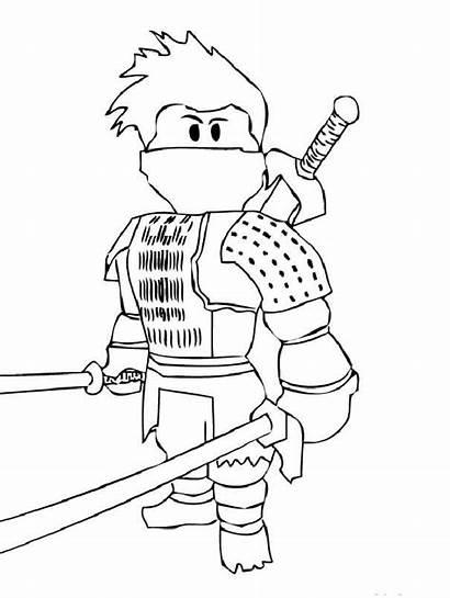 Roblox Coloring Pages Printable Colouring Ninja Adults