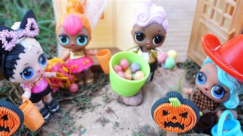 Lol Surprise Dolls Halloween Experience Trick Or Treating