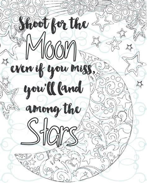 adult inspirational coloring page printable  shoot