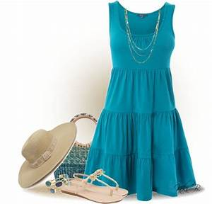 32 Polyvore Casual Dress Outfits for Spring and Summer - Be Modish