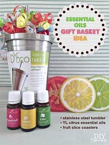 Essential Oils Gift Basket Idea - DIY Show Off ™ - DIY